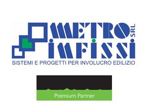 metro infissi logo